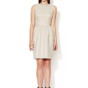 Karen Zambos NWT Jessica dress, champagne, size M